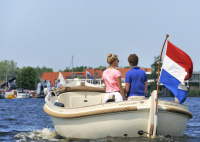 Varen over de Kagerplassen
